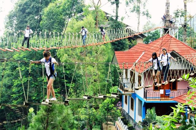 Ciwangun Indah Camp Outbound Lembang Bandung - Rovers Adventure Indonesia