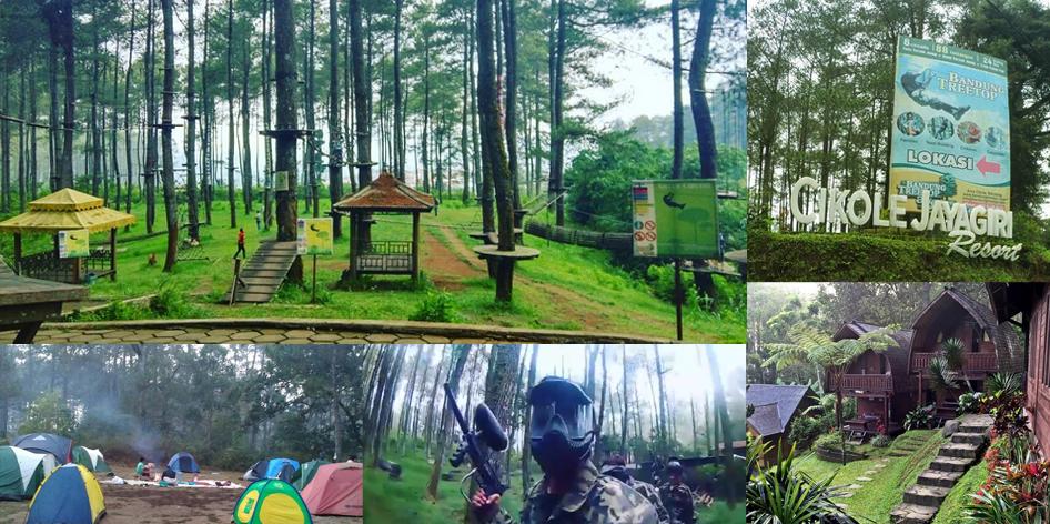Cikole Jayagiri Resort Lembang Bandung - Rovers Adventure Indonesia