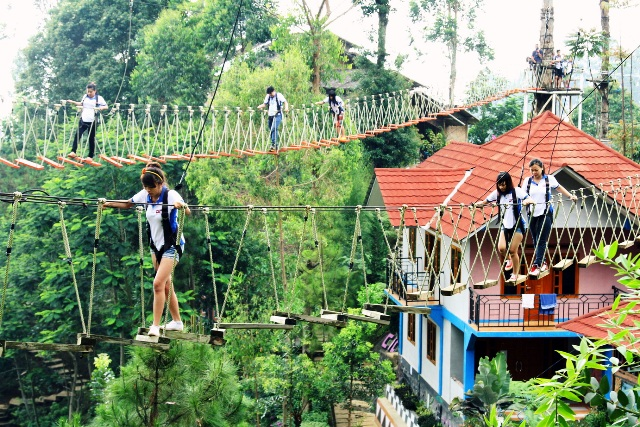 Ciwangun Indah Camp Outbound Lembang Bandung - Rovers Adventure Indonesia