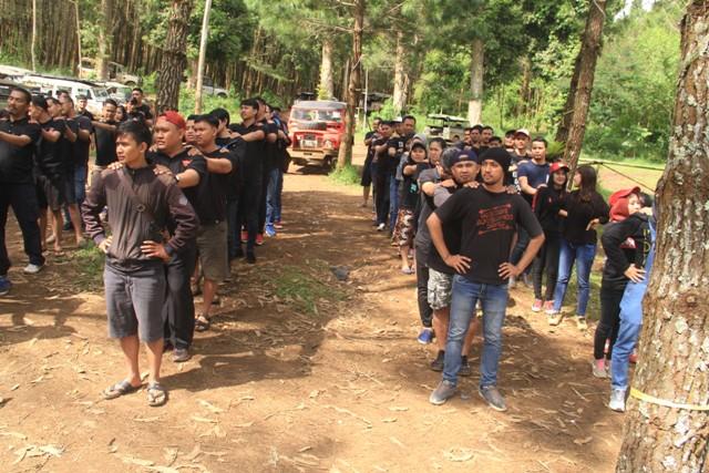 Kegiatan Gathering - Outing Outbound di Lembang Bandung - Cikole