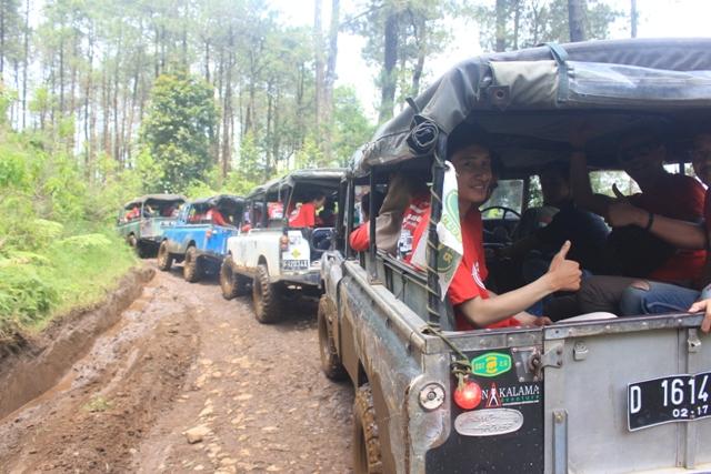 RUTE OFFROAD Sukawana-Cikole (Long trip Extreme)