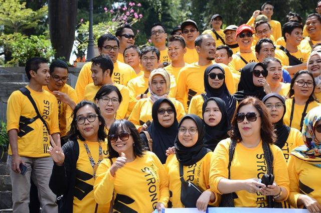 Keseruan acara gathering & outing di Lembang, Bandung Barat