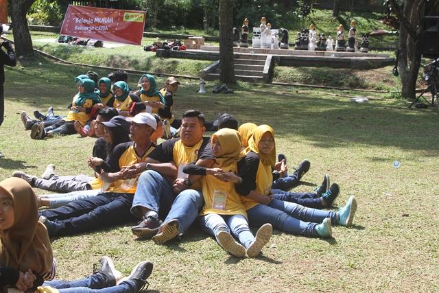 Keseruan gathering yang dibarengi outbound di Lembang bersama Rovers Adventure Indonesia
