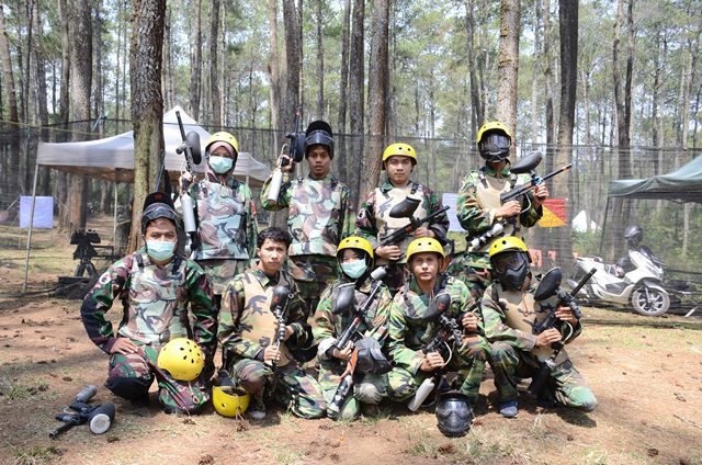 PAKET PAINT BALL - EVENT ORGANIZER VENDOR PAINTBALL CIKOLE LEMBANG BANDUNG