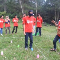FUN GAME OUTBOUND BANDUNG CIKOLE LEMBANG-ROVERS ADVENTURE INDONESIA