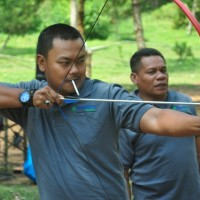 ARCHERY-PROVIDER EO OUTBOUND LEMBANG BANDUNG-CIKOLE-ORCHIED FOREST-BANK BUKOPIN-ROVERS ADVENTURE INDONESIA